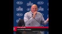 Steve Ballmer goes crazy, gets fired up, and screams over Kawhi Leonard and Paul George and becomes meme 7-24-19