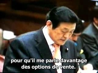 Le Sénateur Fujita questionne son gouvernement (2/2)