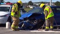 Accident impliquant deux véhicules à Rivière-du-Loup