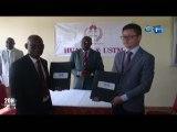 RTG/Education - Signature de convention entre Huawei et l'université des sciences et techniques de Massokou