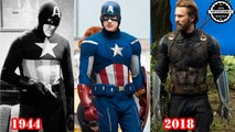 Captain America All Suits Transformation 1944 - 2018 [Avengers: Infinity War]