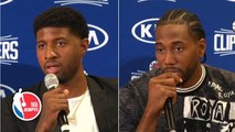 Kawhi and Paul George give health updates, explain why they joined Clippers - NBA Press Conference
