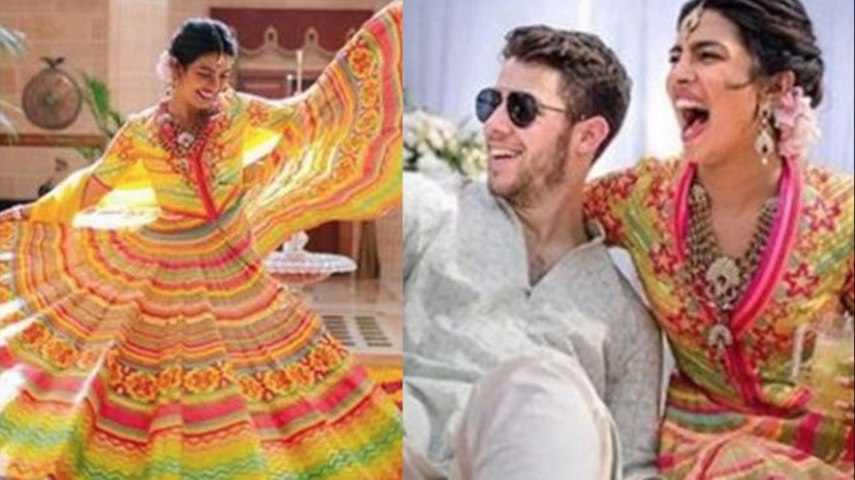 Priyanka Chopra and Nick Jonas' mehendi