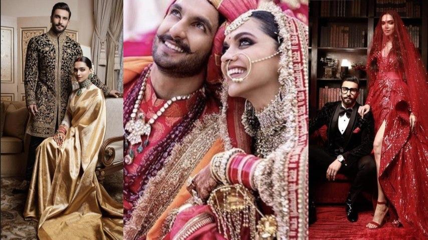 Wedding Look Book: Deepika Padukone and Ranveer Singh