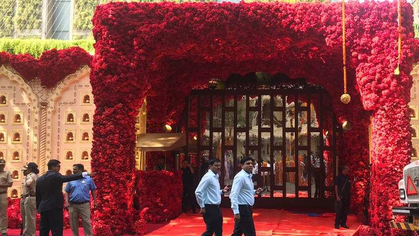 Isha Ambani-Anand Piramal Wedding Today: Here's What the Ambani Residence Looks Like