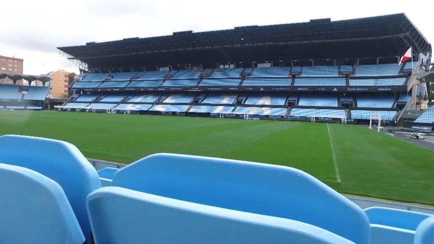 The picturesque Abanca Balaidos stadium