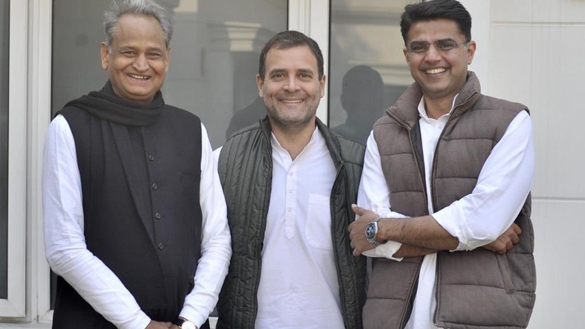 Congress picks Ashok Gehlot as Rajasthan CM, Sachin Pilot is deputy CM