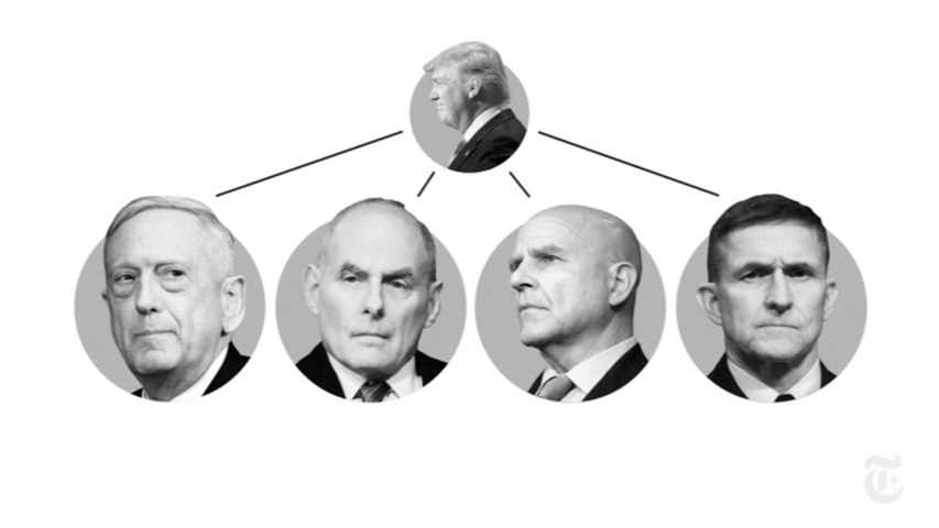 These are the generals who have left Donald Trump's White House