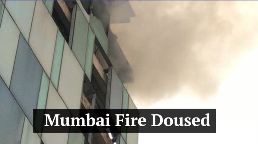 Mumbai fire doused