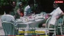 Juin 1976 : la visite du  couple Chirac chez  les Giscard d'Estaing à Brégançon