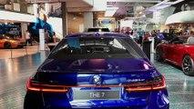 BMW 7-Series M-Sport (2020) Individual in San Marino Blau