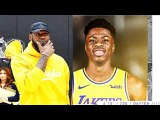 LeBron James Gets Giannis Antetokounmpo's Brother On The Lakers -Kostas Antetokounmpo-