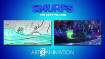 SMURFS THE LOST VILLAGE - Art 2 Animation- Building a Raft
