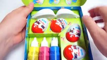 Easter Egg Painting Set -  Kinder Surprise Egg