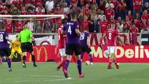Benfica scored late to win 2-1 against Fiorentina in the ICC