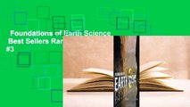 Foundations of Earth Science  Best Sellers Rank : #3