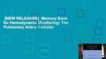 [NEW RELEASES]  Memory Bank for Hemodynamic Monitoring: The Pulmonary Artery Catheter