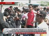 Travelers complain of lack of system in Batangas port