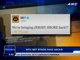 MTV, BET stage fake hacks