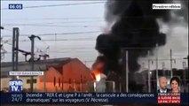 Un incendie à la gare de Noisy-le-Sec a provoqué une forte perturbation vers la gare de l'Est mercredi soir