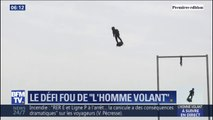 """L'itinéraire prévu pour """"l'homme volant"""" et sa traversée de la Manche sur son Flyboard ce jeudi"""