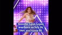 Jennifer Lopez Celebrates Her Birthday
