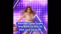 Jennifer Lopez Celebrates Her Birthday