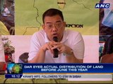 More than 6,000 farmers qualified to receive land from Hacienda Luisita