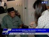 Sulu Sultan Jamalul Kiram III: Group in Sabah ready to fight