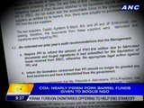 COA: Nearly P206-M pork barrel funds given to bogus NGO