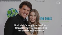 Bindi Irwin Gets Engaged On Her 21st Birthday