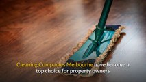 The Advancement Of Cleaning Companies Melbourne Explained