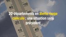 20 départements en alerte rouge canicule : une situation sans précédent