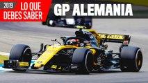 Claves del GP Alemania F1 2019