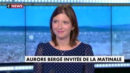 Aurore Bergé - CNews jeudi 25 juillet 2019