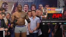 FILE: Hearn and Wilder react to report Dillian Whyte failed doping test