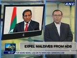 Teditorial: Expel Maldives from ADB
