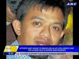 Activists want Aquino to remove Año as AFP intelligence chief for alleged role in Burgos disappearance