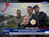 More Google pranks for April Fools'