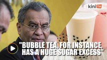 Health Minister: Avoid sugary beverages such as bubble tea