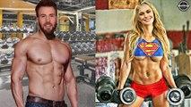 Brie Larson VS Chris Evans Training For [Captain Marvel - Captain America]