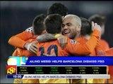 Messi helps Barca dismiss PSG