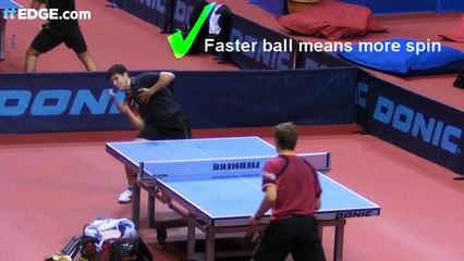 Table Tennis Tomahawk Serve by William Henzell
