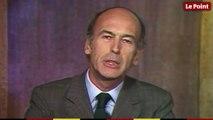 1974 : le candidat Valéry Giscard d'Estaing se présente à la présidentielle
