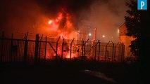 Un incendie perturbe le trafic Gare de l'Est