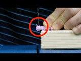 Percez un trou dans le Lego. Avec ça, vous résoudrez un problème connu par tous au quotidien.