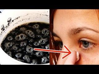 Une femme s'enduit les yeux de café. Après 2 minutes, elle est à peine reconnaissable.