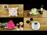 Table Decoration: 6 Simple Tricks For Folding Napkins