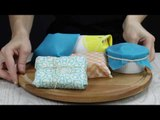 How To Make Reusable Food Wrap Quickly & Easily