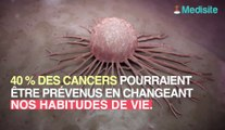 Les cancers pourraient être évités dans 40 % des cas